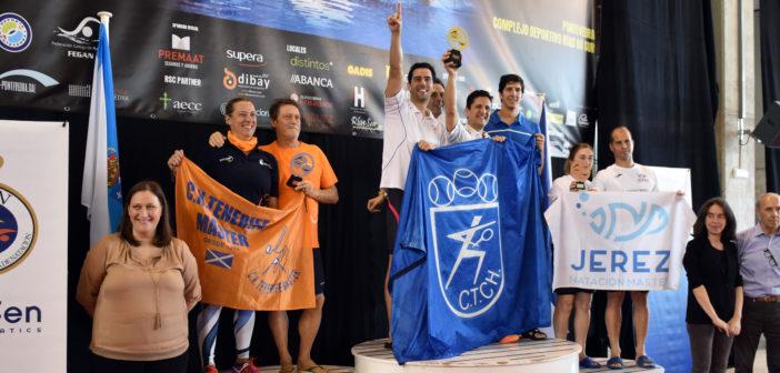 El CT Chamartín, campeón de España Master, seguido del Tenerife y el Jerez