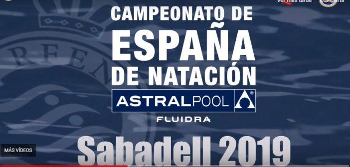 Cinco nadadores y nadadoras del Galaico, en el Campeonato de España Absoluto