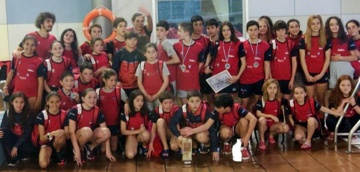 El Club Natación Galaico, tercero en el Trofeo de Avilés