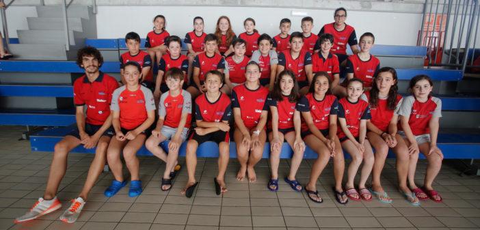 El equipo benjamín del CN Galaico, tercero de la Liga Gallega
