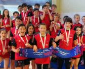 El CN Galaico se trae el bronce de la Copa Gallega Benjamín