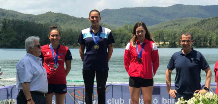 Carla Goyanes se hace con la plata en los 10 km del Campeonato de España de Aguas Abiertas