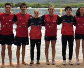 Tres platas y dos bronces para el CN Galaico en el Campeonato de España de Aguas Abiertas