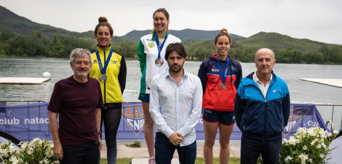 María Vilas logra el bronce en los 5 km. del Campeonato de España de Aguas Abiertas