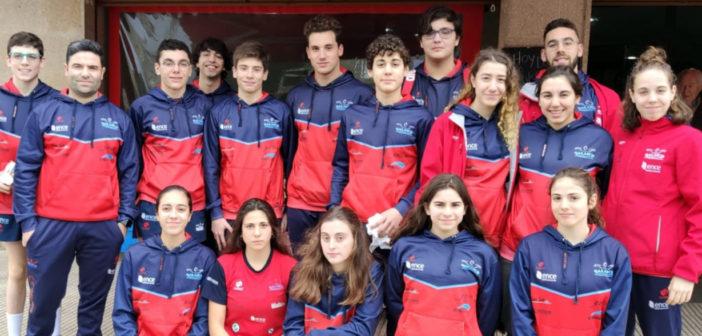 El Galaico logra 10 medallas en el Campionato Galego Infantil de Inverno