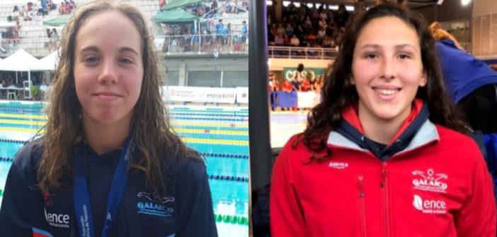 Carla Goyanes y Alicia Bouzas compiten en el Campeonato de España de Larga Distancia